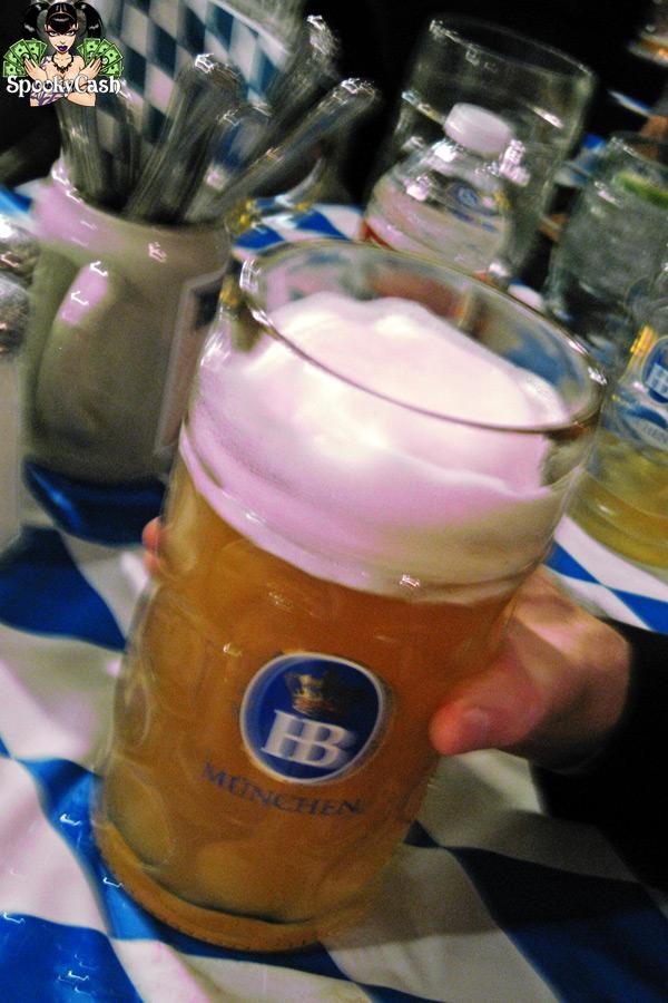 Internext 2012 - Traffic Dinner Hofbrauhaus Beer