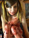 Preview Erotic BPM - Cute teen Halloween caking mess